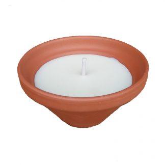 bougie extérieur vasque réception natural